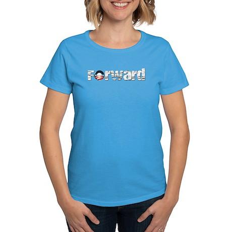Forward - Obama Shirts Women's Dark T-Shirt
