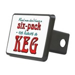 6pack-keg.png Rectangular Hitch Cover