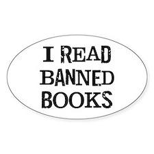I Read Books Decal