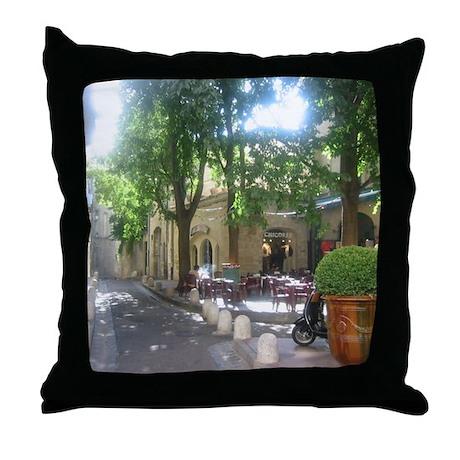 Around Montpellier Throw Pillow