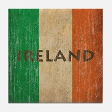 Vintage Ireland Tile Coaster