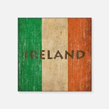 "Vintage Ireland Square Sticker 3"" x 3"""