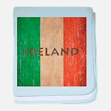 Vintage Ireland baby blanket