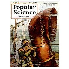 Popular Science Cover, April 1919 Poster