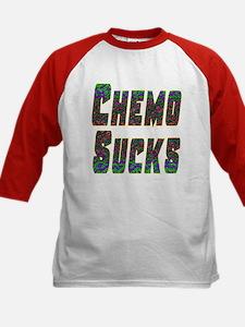 chemo sucks acid colors Kids Baseball Jersey