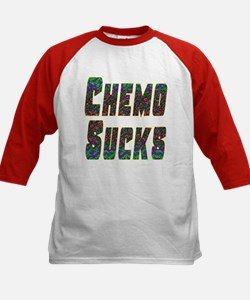 chemo sucks acid colors Tee