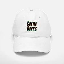 chemo sucks acid colors Baseball Baseball Cap