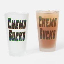 chemo sucks acid colors Drinking Glass