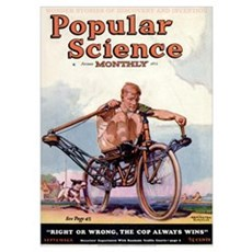 Popular Science Cover, September 1926 Poster