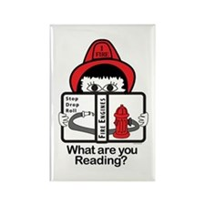 Fire Fighter Rectangle Magnet