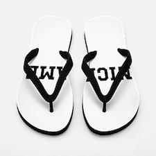 Nickname Personalized Flip Flops