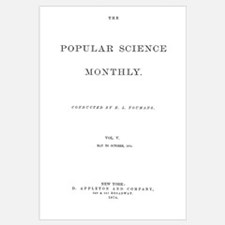 Popular Science Cover, October 1874 A