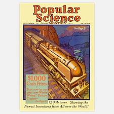 Popular Science Cover, November 1930
