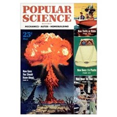 Popular Science Cover, May 1953 Poster