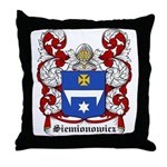 Siemionowicz Coat of Arms, Fa Throw Pillow