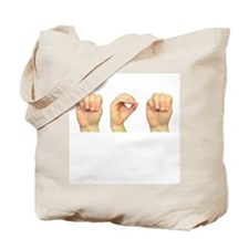 Mom in Sign Language Tote Bag