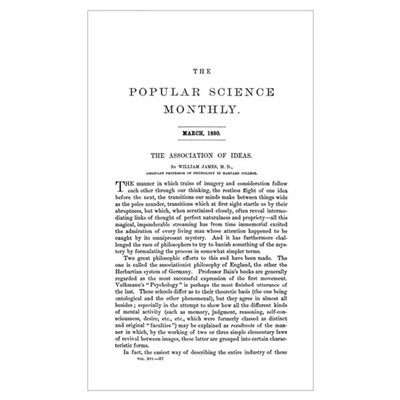 Popular Science Cover, March 1880 Poster