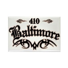 Baltimore 410 Rectangle Magnet