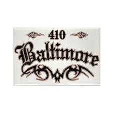 Baltimore 410 Rectangle Magnet