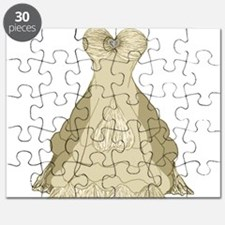 Princess Wedding Dress by Kristie Hubler Puzzle