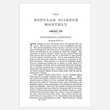 Popular Science Cover, January 1874
