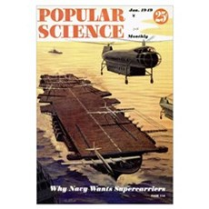Popular Science Cover, January 1949 Framed Print