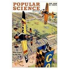 Popular Science Cover, January 1948 Poster