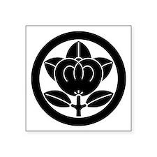 "Encircled mandarin Square Sticker 3"" x 3"""