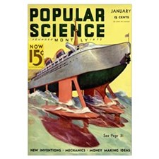 Popular Science Cover, January 1936