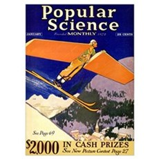 Popular Science Cover, January 1931 Poster