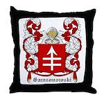 Samsonowski Coat of Arms Throw Pillow
