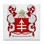 Samsonowski Coat of Arms Tile Coaster