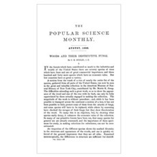 Popular Science Cover, August 1886 Poster