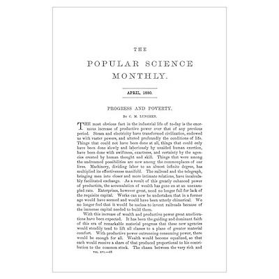 Popular Science Cover, April 1880 B Poster