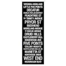 Bus Roll: Atlanta Poster