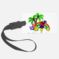 Ring of Fire Parrot Luggage Tag