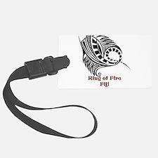 Ring of Fire Manta Ray Luggage Tag