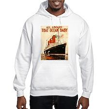 Vintage Ocean Liner Hoodie