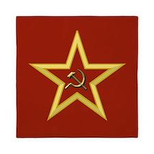 Soviet Star Queen Duvet
