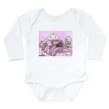 Sighthounds slumber party Long Sleeve Infant Bodys