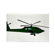 Helicopter5 Rectangle Magnet (100 pack)