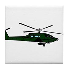 Helicopter5 Tile Coaster