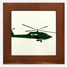 Helicopter5 Framed Tile