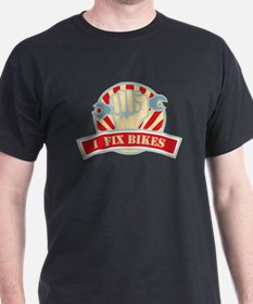 I Also Fix Bikes T-Shirt