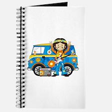Hippie Boy and Camper Van Journal