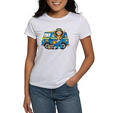 Hippie Boy and Camper Van Tee