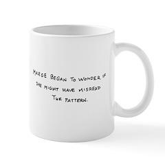 Marge Began to Wonder Knitter's Mug