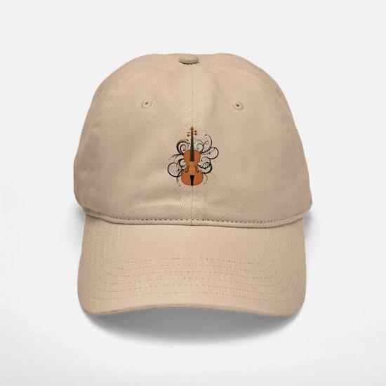 Violin Baseball Baseball Cap