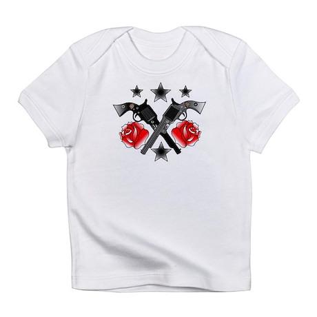 Roses Guns Infant T-Shirt