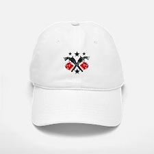 Roses Guns Baseball Baseball Cap